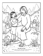 Coloring Pages from The Friend Magazine